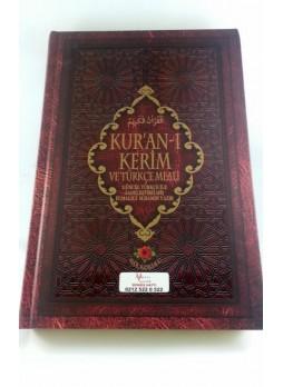 Orta Boy Türkçe Mealli Kuran-ı Kerim